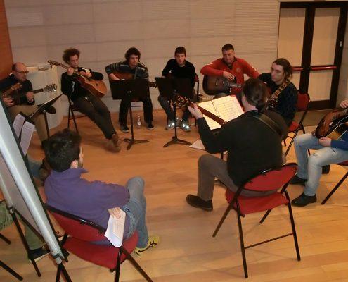 Conservatorio di Rovigo 2014 Masterclass di Franco Morone