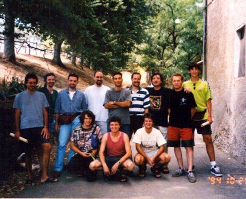 I primi corsi estivi di chitarra di Franco Morone a a Dulcamara