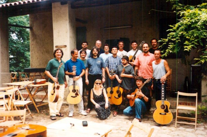 The first summer guitar courses by Franco Morone in Dulcamara