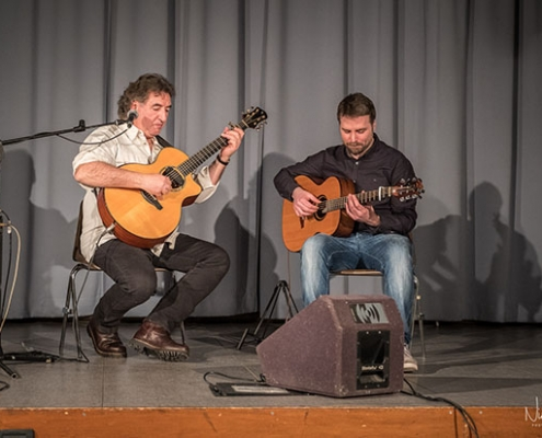 Franco Morone with Michele Lideo - concert of March 3, 2018 in Camposampiero