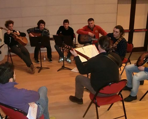 Fingerstyle guitar course with Franco Morone