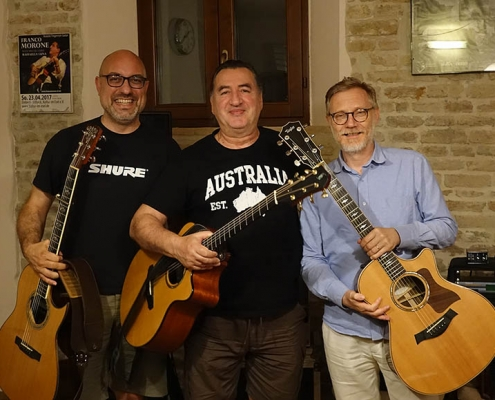 Franco Morone guitar course at Osimo giu 2018