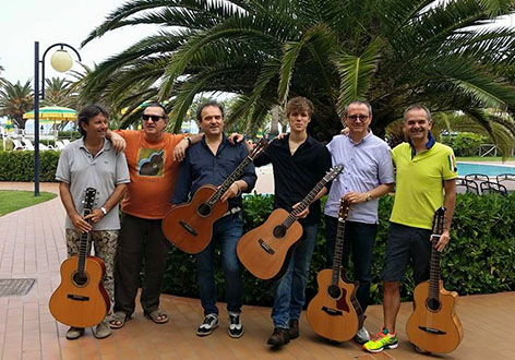 Franco Morone acoustic fingerstyle guitar workshop at Grottammare 2015