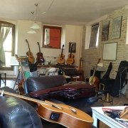 Guitar courses in Marche with Franco Morone - Classroom