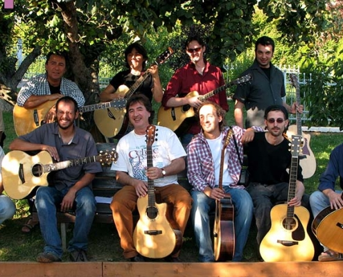 Franco Morone Annual guitar workshop at Malosco 2007