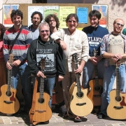 Franco Morone Annual guitar workshop at Malosco 2010