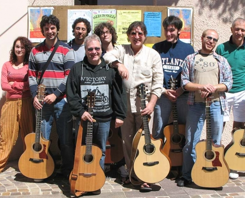 Franco Morone Annual guitar workshop at Malosco 2010