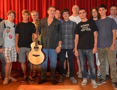 Franco Morone Annual guitar workshop at Malosco 2013