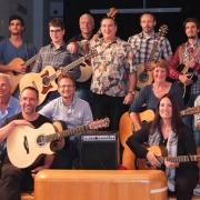 Franco Morone Annual guitar workshop at Malosco 2014