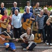 Franco Morone Annual guitar workshop at Malosco 2015