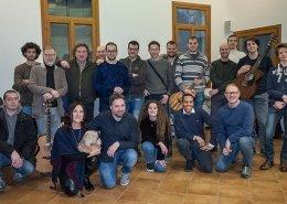 Masterclass di chitarra fingerstyle con Franco Morone - presso Scuola Spazio Acustico e Accademia Filarmonica foto Nico Ruffato