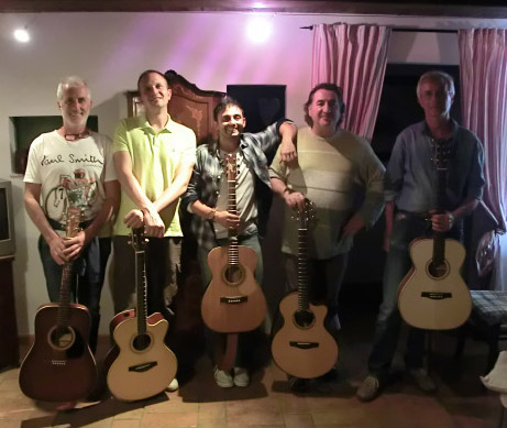 Franco Morone guitar course at Osimo giu 2016