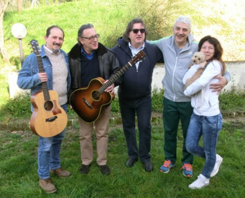 Franco Morone guitar course at Osimo mar 2016