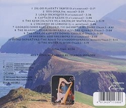 The Road to Lisdoonvarna - Cd - Franco Morone - back