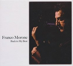 Back to My Best - Cd - Franco Morone - front