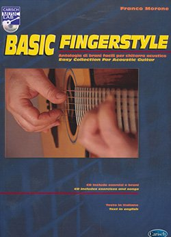 Basic Fingerstyle - Libro e Cd - Franco Morone - front