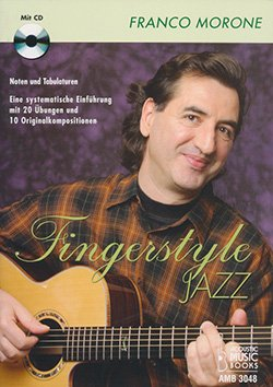 Fingerstyle Jazz - Libro e Cd - Franco Morone - front