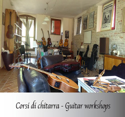 Franco Morone corsi chitarra guitar workshops