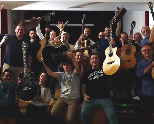 Annual guitar course with Franco Morone 2018