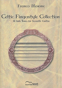 Franco Morone Celtic Fingerstyle Collection Book