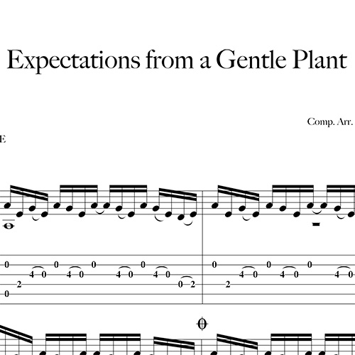 Preview-Expectations-From-a-Gentle-Plant_FrancoMorone-MusicaTabsChitarraFingerstyle