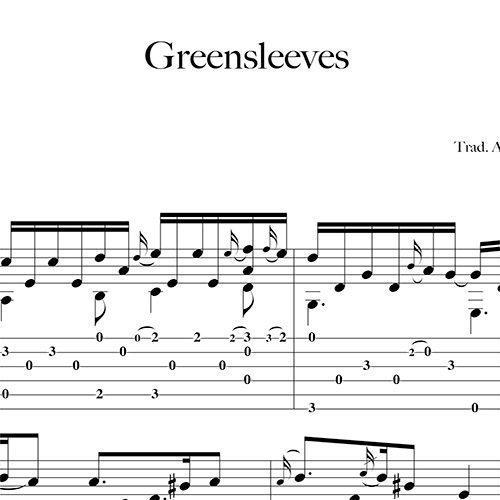 Anteprima-Greensleeves_FrancoMorone-MusicaTabsChitarraFingerstyle