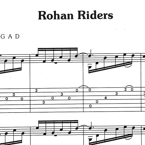 Preview-Rohan-Rides_FrancoMorone-MusicaTabsChitarraFingerstyle
