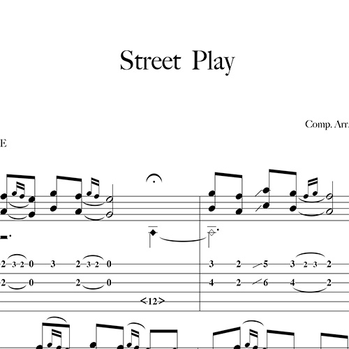 Preview-Street-Play_FrancoMorone-MusicaTabsChitarraFingerstyle