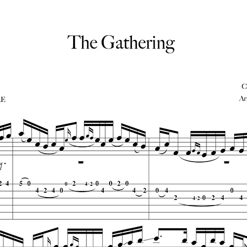 Anteprima-The-Gathering_FrancoMorone-MusicaTabsChitarraFingerstyle