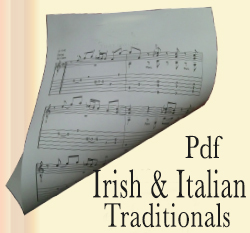 Category tunes in pdf of Irish folk and traditional Italian