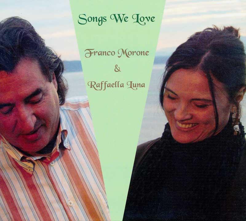 SongsWeLove Cd -Chitarra_ FrancoMorone - Voce_RaffaellaLuna