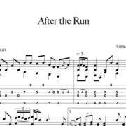 Preview-After-the-Run_FrancoMorone-MusicaTabsChitarraFingerstyle