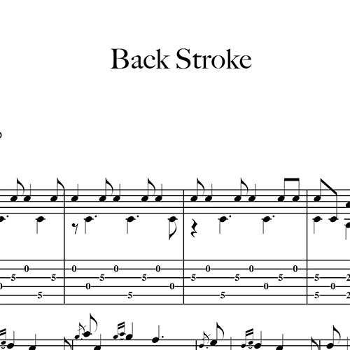 Preview-Back-Stroke_FrancoMorone-MusicaTabsChitarraFingerstyle