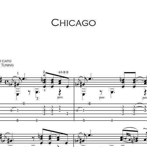 Anteprima-Chicago_FrancoMorone-MusicaTabsChitarraFingerstyle
