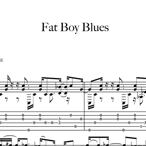 Anteprima-Fat-Boy-Blues_FrancoMorone-MusicaTabsChitarraFingerstyle