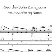 Anteprima-Geordie_JohnBarleycorn_YeJacobiteByName_FrancoMorone-MusicaTabsChitarraFingerstyle