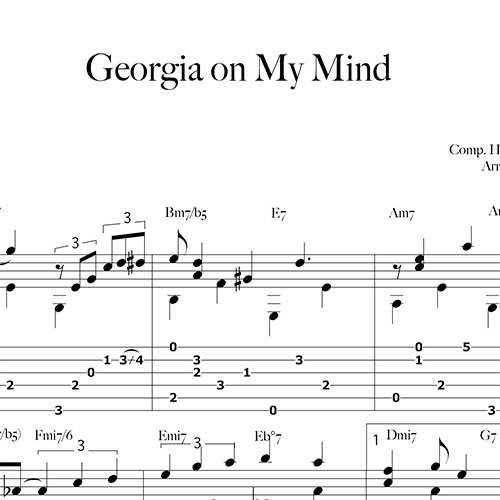 Anteprima-GeorgiaOnMyMind_FrancoMorone-MusicaTabsChitarraFingerstyle