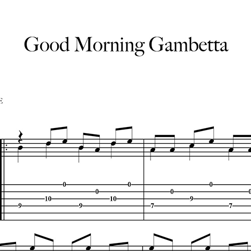 Preview-Good-Morning-Gambetta_FrancoMorone-MusicaTabsChitarraFingerstyle