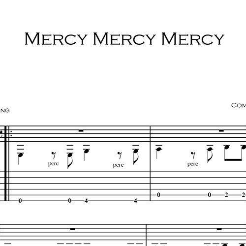 Anteprima_Mercy-Mercy-Mercy_FrancoMorone-MusicaTabsChitarraFingerstyle