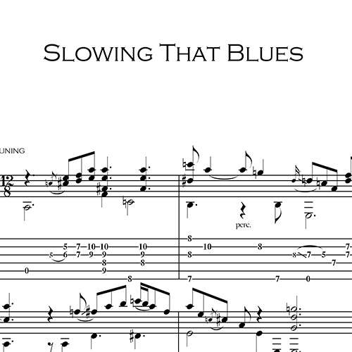 Anteprima-Slowing-That-Blues_FrancoMorone-MusicaTabsChitarraFingerstyle