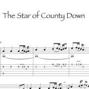 Preview-TheStarOfCountyDown_Gaelico_FrancoMorone-MusicaTabsChitarraFingerstyle