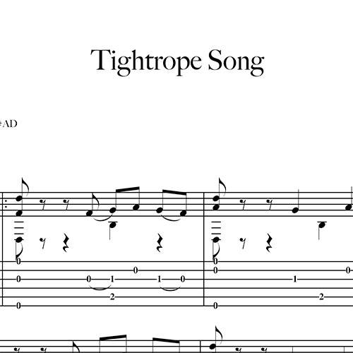 Anteprima-Tightrope-Song_FrancoMorone-MusicaTabsChitarraFingerstyle