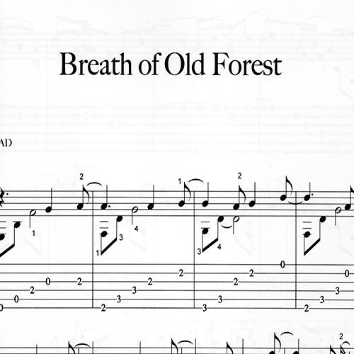 Preview_Breath-of-Old-Forest_ComposerFranco Morone-Music and tabs