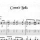 Franco Morone Com'è-Bellu Music and tabs