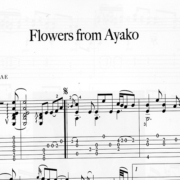 Franco Morone Flowers-From-Ayako Music and tabs