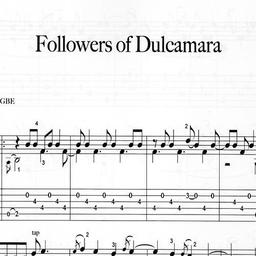 Franco Morone Followers-of-Dulcamara Music and tabs