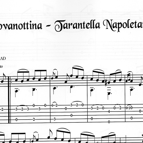Franco Morone Giovanottina, Tarantella-Napoletana Music and tabs