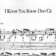 Franco Morone I-Know-You-Know-Don-Ca' Music and tabs