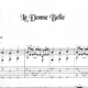 Franco Morone Le-Donne-Belle Music and tabs