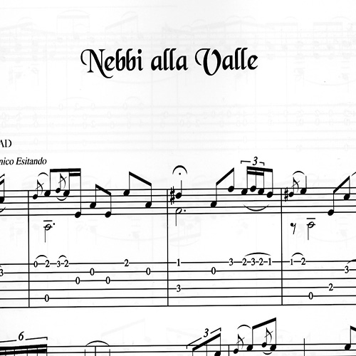 Franco Morone Nebbi-alla-Valle Music and tabs